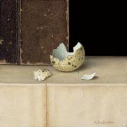 Gebroken eitje (1) © Aad Hofman