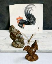 Stilleven met pluimvee en libel © Chris Herenius