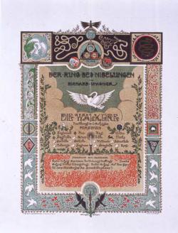 Programmaboekje van de Wagner-vereniging Die Walküre