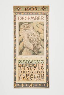 Kalenderblad december 1905