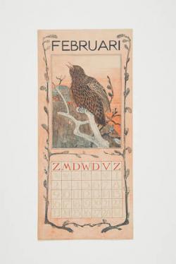 Kalenderblad februari 1902