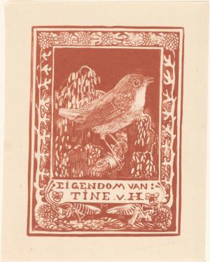 Ex libris van Tine van Hoytema