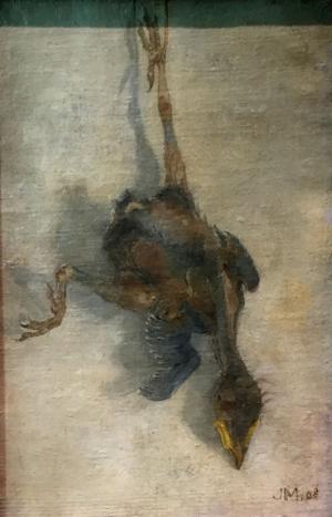 Dood vogeltje, Jan Mankes, 1908