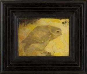 Roofvogeltje op tak, Jan Mankes, 1911