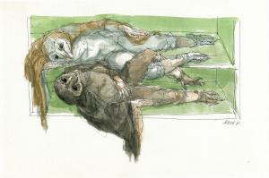 Uilensonnet, enjambement, Peter Vos, 2001