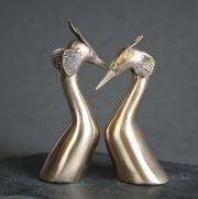 Richard van der Koppel | Futenpaar | 10cm | brons | 310