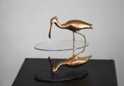 Richard van der Koppel | Spiegeling - 3  | 16cm | brons | 450