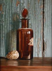 Flesje met kwartelei © Rob Møhlmann