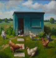 Frieds kippenhok © Ton van Steenbergen