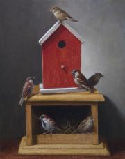 Vogelhuisjes © Ton van Steenbergen