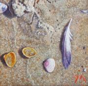 Washed Ashore III/North Sea Beach © Yvonne Melchers