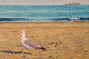 Busy Bird/Venetian Blues © Yvonne Melchers