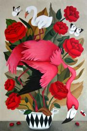Flamingo feeling © Yvonne Zomerdijk