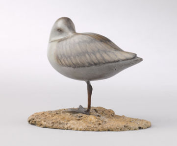 Strandloper, brons, Mark Dedrie